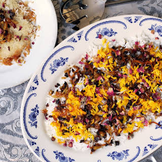 Persian Barberry Rice (Zereshk Polow).
