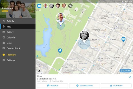 FamilyWall - Family Organizer & Locator- screenshot thumbnail