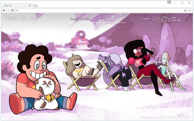 Steven Universe Wallpaper HD New Tab Themes