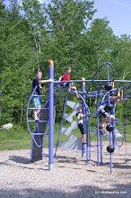 Photo: Playing on the playground at Boulder Beach State Park