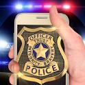 Police set weapon simulator icon