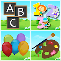 ABC,numbers & colors icon