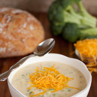 My Favorite Broccoli Cheese Soup.