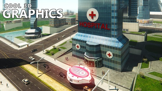 Gyroscopic Elevated Ambulance: Fire Rescue Driving - náhled