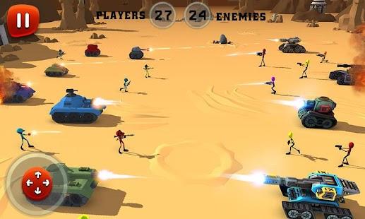 Creepy Aliens Battle Simulator 3D Screenshot
