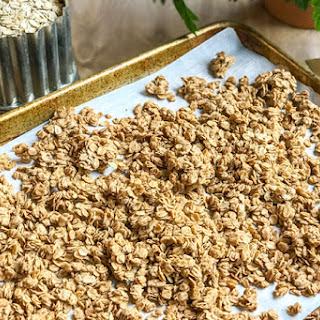 Easy Healthy Peanut Butter Granola.