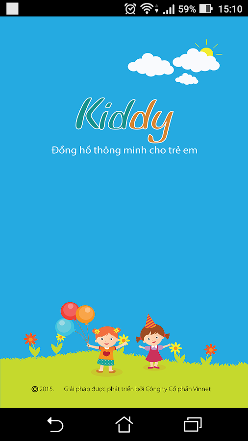 Kiddy - smartwatch for kids- screenshot