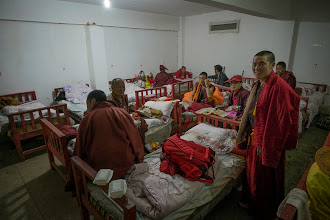 Photo: Hotel dormitory where I was to spend the first night, until I got a bed at one of the huts.