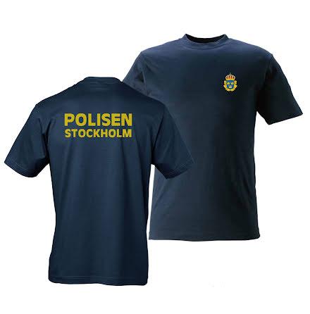 T-shirt bomull Stockholm