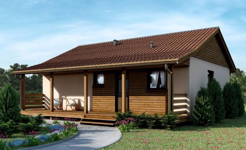 Projekt domu D49 - Maurycy