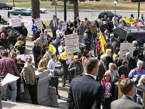 Photo: Denver Tea Party rally in 2011; photo by Bob Glass; posted with permission by Ari Armstrong.