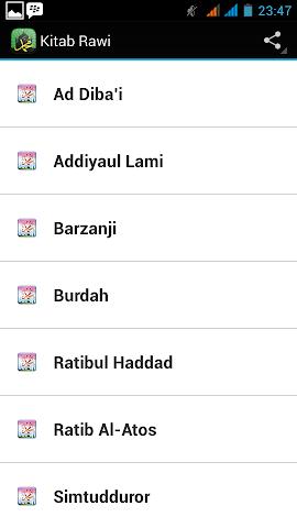 android Kitab Maulid Screenshot 0