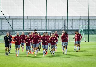 Le Standard de Liège dévoile sa sélection pour affronter Vojvodina