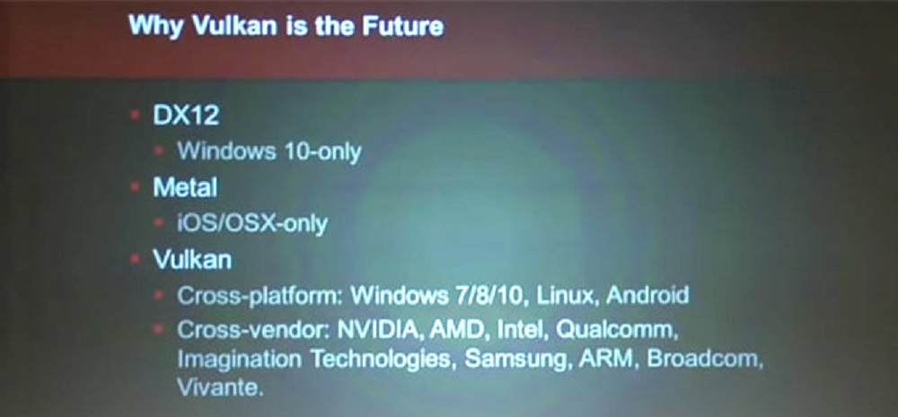 Vulkan API is the future