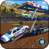 Derby Car Transport Truck Sim