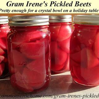 Gram Irene's Pickled Beets (Beet Pickles)