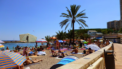 Photo: Monte Carlo beach