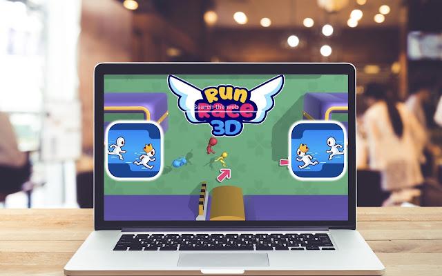 Run Race 3D HD Wallpapers Game Theme