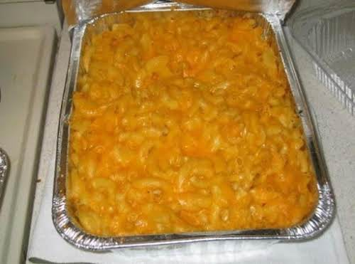"""Click Here for Recipe: Homemade Baked Macaroni and Cheese """"I love this!..."""
