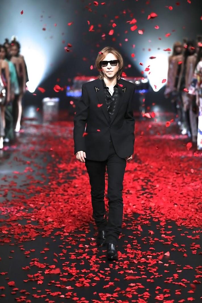 [迷迷音樂] YOSHIKI 和服品牌Yoshikimono為東京時裝週開場