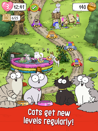 Simonu2019s Cat Crunch Time - Puzzle Adventure! apktram screenshots 14