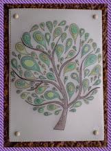 """Photo: """" arbre """"  envoyée à Marcelle ."""