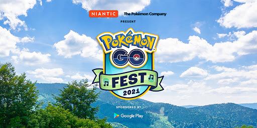 [官方活動]獲得Google Play獨家好禮,讓你的Pokemon GO Fest 2021精彩無比!