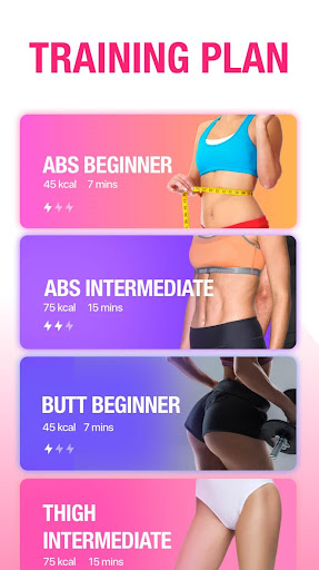 Women Workout at Home - Female Fitness 1.1.8 screenshots 2