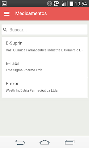 android Bulas de Medicamentos Screenshot 5