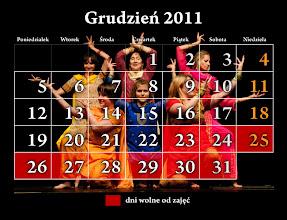Photo: grudzień 2012 - kalendarz Studio Tańca NTF; na zdjęciu Bollywood grupa Kingi Malec