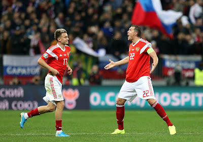 WK-kwalificatiewedstrijden: vlotte overwinning voor Montenegro, Rusland alleen leider na zege tegen Slovenië
