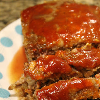 Spicy Italian Meatloaf.