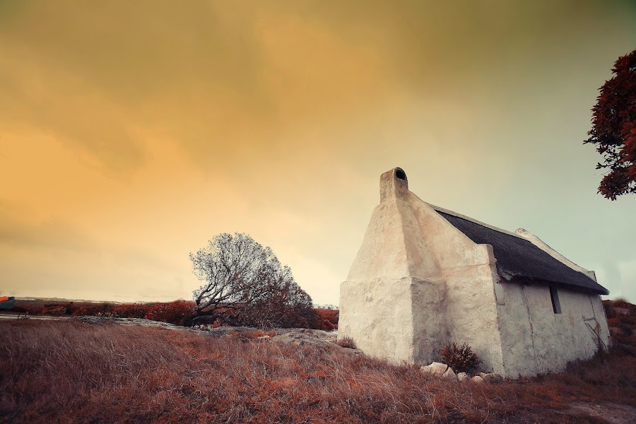 a pale winter sunset by Randall Langenhoven - Landscapes Sunsets & Sunrises