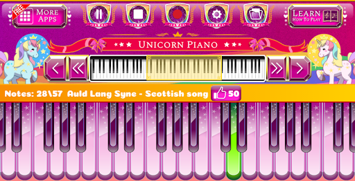 Unicorn Piano 1.1.5 screenshots 3