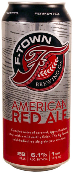 Logo of F-Town Amber Red Ale