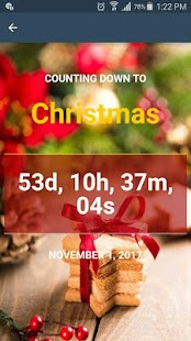 How many Days till Christmas Countdown - náhled