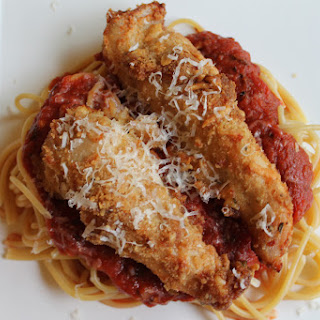 Easy Oven-Baked Chicken Parm