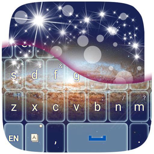 键盘银河主题 娛樂 App LOGO-硬是要APP