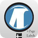 μPDF with Page Labels icon