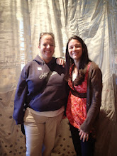 Photo: Jandee and Natty at the Fabric Wall