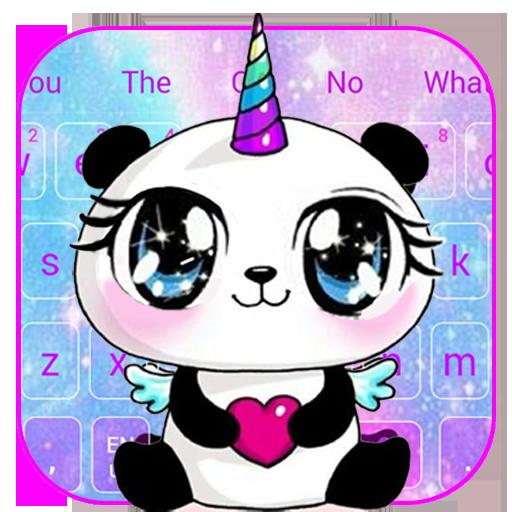 Galaxy Unicorn Panda Emoji Keyboard Theme Apps Bei Google
