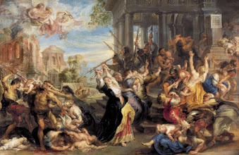 Photo: Peter Paul Rubens, The Massacre of the Innocents, Ca. 1636-38