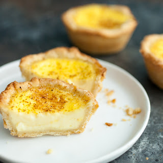 Egg Custard Tart Without Cream Recipes.