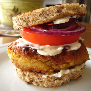 Chickpea Burger.