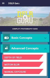 DSLR Guru - Photography guide - náhled