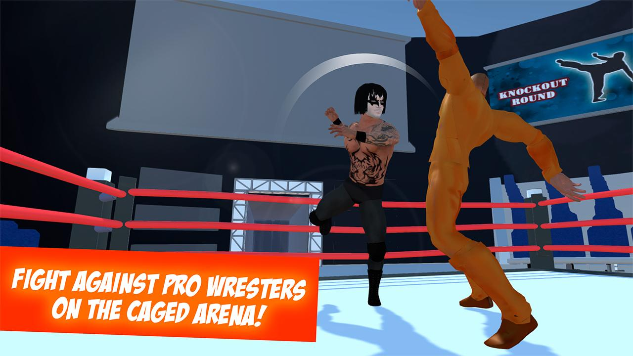 Download Wrestling: Revolution Fight 3D APK + Mod APK + Obb