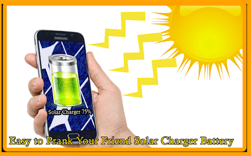 Solar Charger Battery Prank - náhled