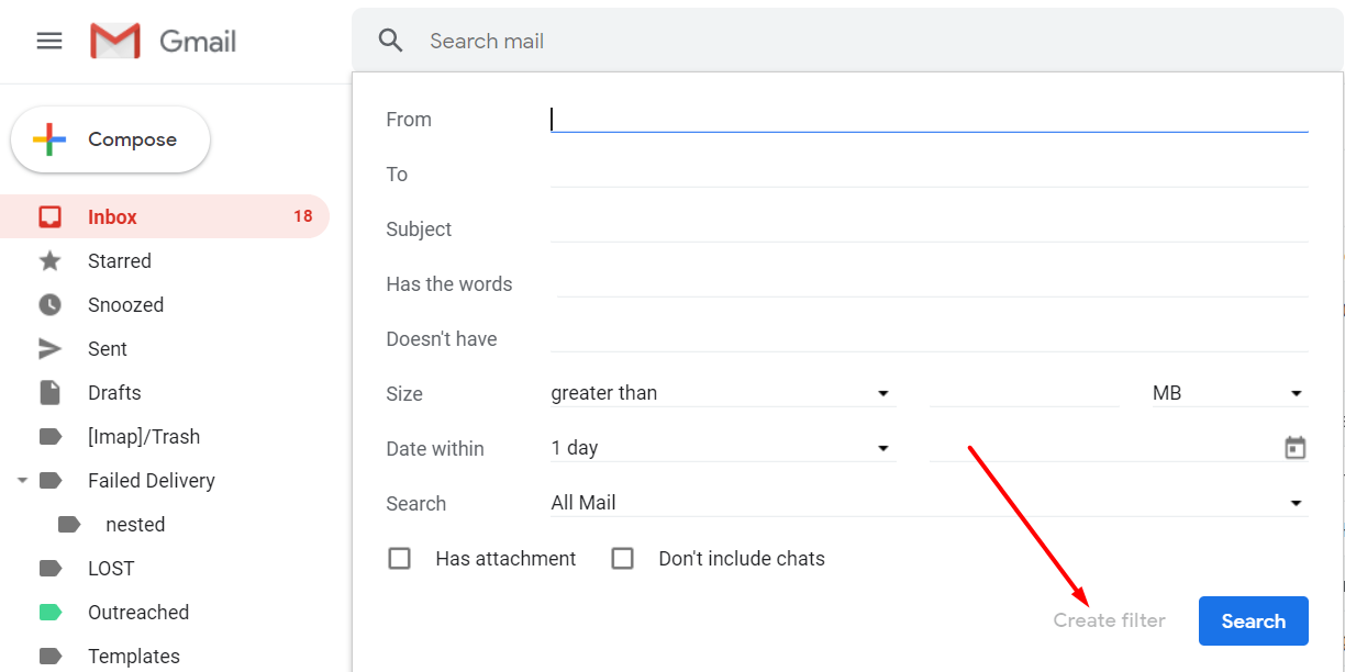 How to Create Gmail Labels and Drastically Improve Productivity - search labels - autoklose.com