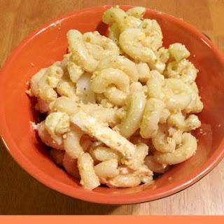 Egg Salad Macaroni Salad.