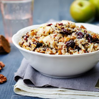 Gorgeous Cranberry Apple Pecan Wild Rice